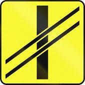 image of railroad-sign  - Polish warning sign  - JPG