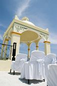 Caribbean Beach Wedding - Wedding Gazebo