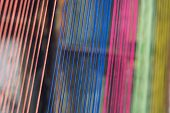 Multicolor Thread Silks Dye From Natural Color Material For Woven Silk Handicraft poster