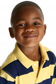 Adorable African American Boy