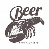 Lobster Bar Logo poster