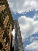 Old Vs New Architecture (Philadelphia Skyscrapers) poster