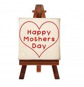 Постер, плакат: Счастливые матери день сообщение
