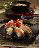 stock photo of jock  - Sushi platter  - JPG