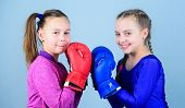 Friendship As Battle And Competition. Pass Boxing Challenge. Test For Fortitude. Female Friendship.  poster