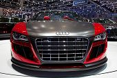 GENEVA - MARCH 8: The Audi TT Quattro on display at the 81st International Motor Show Palexpo-Geneva