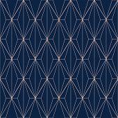 Geometric Seamless Patterns. Abstract Geometric Rhombus Graphic Design Print 3d Cubes Pattern. Seaml poster