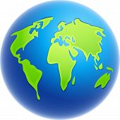 stock photo of world-globe  - globe illustration - JPG