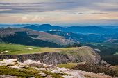 The View From Mt. Evans. Scenic Landscape Of The Northern Colorado Rocky Mountains. poster