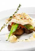 pic of halibut  - Hot Fish Dishes  - JPG