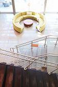 image of reception-area  - Empty Reception Area In Modern Office - JPG