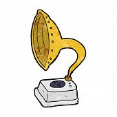 cartoon phonograph