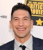 LOS ANGELES - JAN 16:  Jon Bernthal arrives to the Critics' Choice Movie Awards 2014  on January 16,