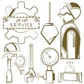 image of habilis  - engineering icons - JPG