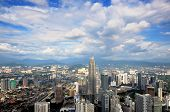 picture of klcc  - Kuala Lumpur has its origins in the 1850s - JPG