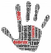 picture of stop bully  - Stop domestic violence - JPG