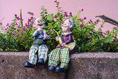 foto of barbie  - Two dolls which made like grand mom  - JPG