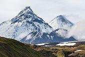 stock photo of volcanic  - Nature of Kamchatka  - JPG