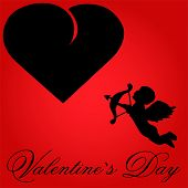pic of cupid  - Valentine Vector  - JPG