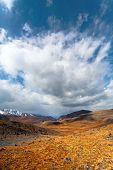 stock photo of steppes  - Steppe desert landscape - JPG