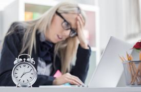 picture of fail job  - Stressful woman can - JPG