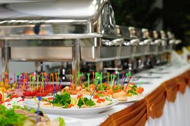 picture of buffet catering  - catering wedding - JPG