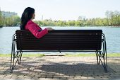 pic of sitting a bench  - Solitude - JPG