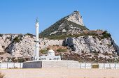 foto of gibraltar  - The Mosque on Gibraltar located at Europa Point - JPG