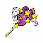 pic of magic-wand  - cartoon magic wand - JPG