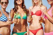 image of beach party  - summer vacation - JPG