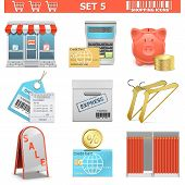 picture of barcode  - Shopping Icons Set 5 - JPG