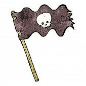 pic of pirate flag  - cartoon pirate flag - JPG