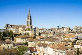 stock photo of bordeaux  - cityscape of Saint - JPG
