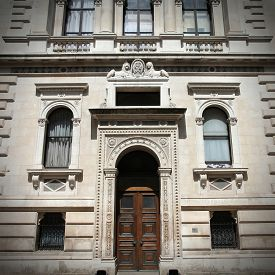 stock photo of treasury  - London United Kingdom  - JPG