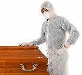 stock photo of exhumed  - exhumation  - JPG