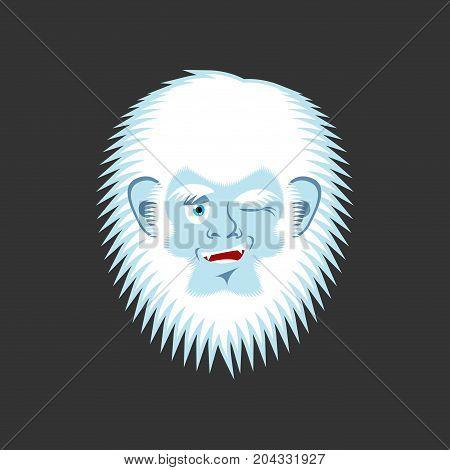 Yeti Winks Emoji Abominable Snowman