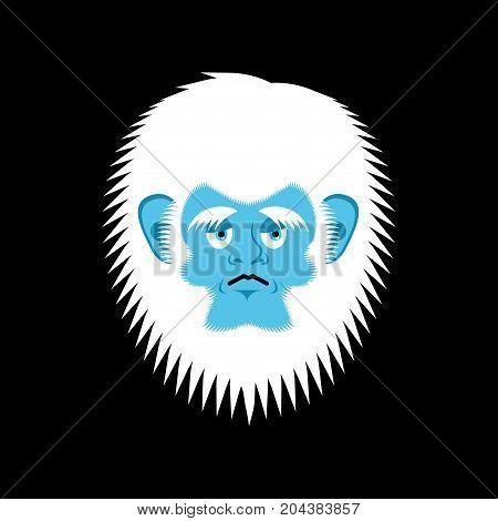 Yeti Sad Emoji Abominable Snowman