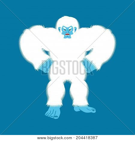 Yeti Angry Bigfoot Evil Abominable