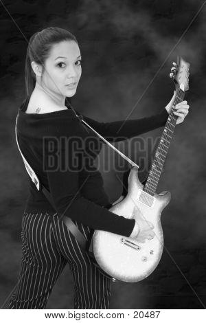 Guitar Girl 02 poster