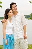 Couple Outdoors poster