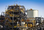 Processing Plant At Galaxy Lithium Mine In Ravensthorpe, Western Australia. Mechanical Processing Us poster