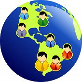 foto of people icon  - Diversity of people around the world - JPG