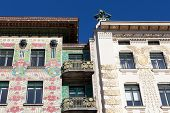 Otto Wagner Architecture, Art Nouveau poster