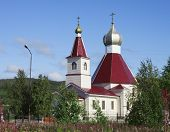 foto of murmansk  - The Church of the Nativity of St - JPG