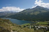 pic of engadine  - Majestic european landscape - JPG