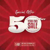 foto of year end sale  - Year End Sale Poster - JPG