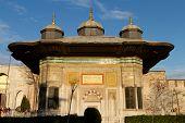 foto of harem  - Fountain of Ahmed III in Sultanahmet - JPG