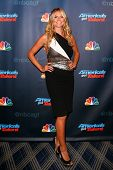 NEW YORK-SEP 4: Heidi Klum attends the post-show red carpet for NBC's