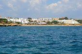 picture of vilamoura  - Beach Oura Albufeira Algarve Portugal summer sea - JPG