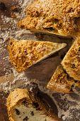 stock photo of baking soda  - Traditional Irish Soda Bread for St - JPG